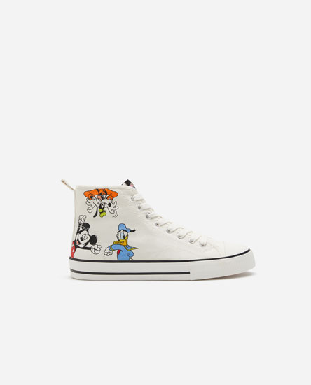 Mickey Mouse © Disney high-top sneakers