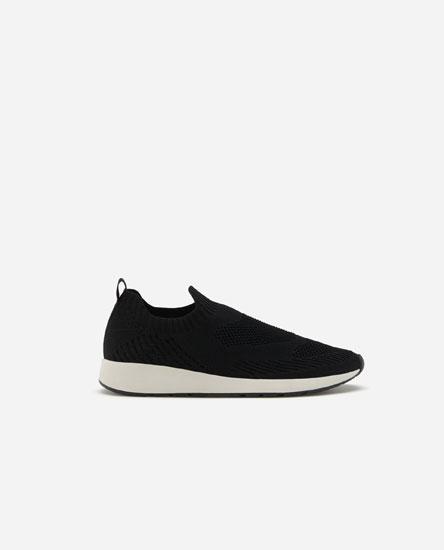 Mesh sock-style sneakers