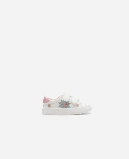 Glitter star sneakers