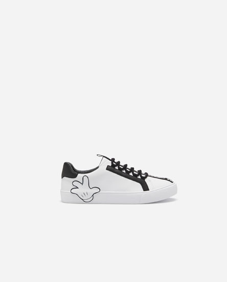 Fashion Mickey Mouse plimsolls © Disney