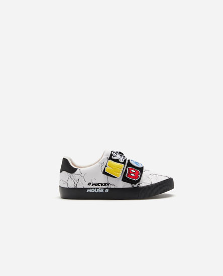 Mickey Mouse patch plimsolls © Disney
