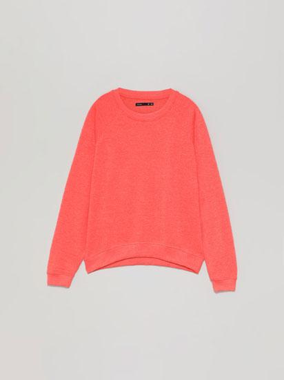 Basic tracksuit sweatshirt