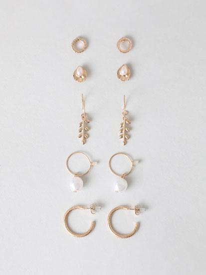 6-Pack of assorted earrings