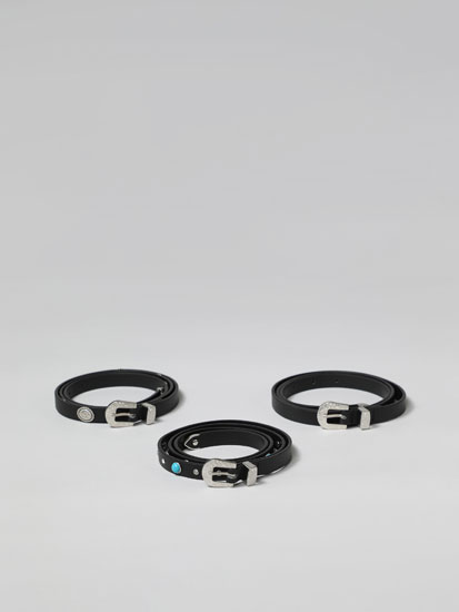 3-Pack of Rodeo Belts