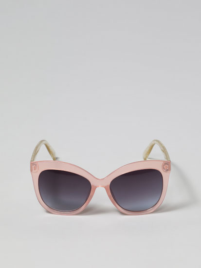 Sparkly square sunglasses