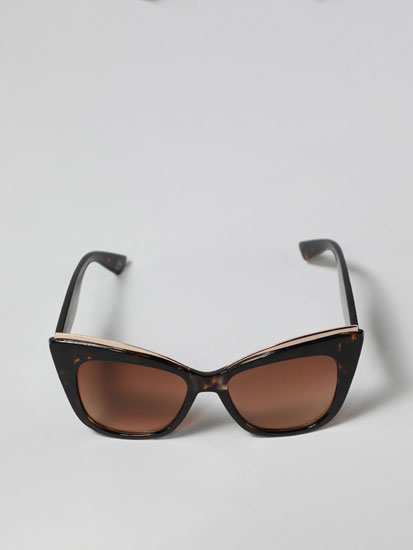 Maxi square sunglasses