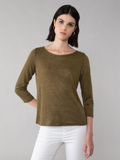 Fine rustic sweater