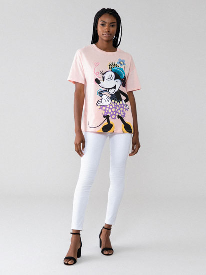 T-shirt Mickey e Minnie Mouse ©Disney