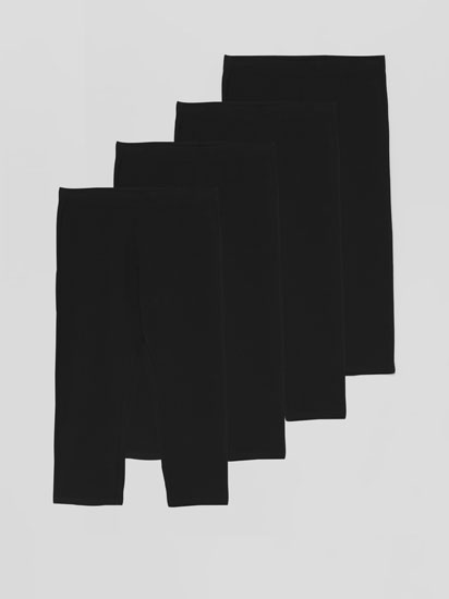 4-Pack of short leggings