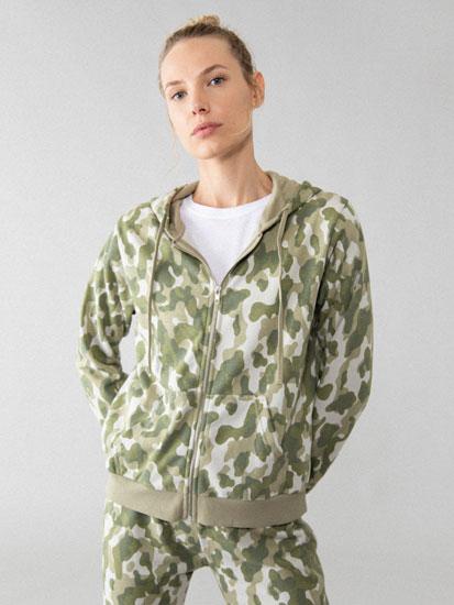 Jaqueta estampada de xandall