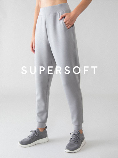 Sporty jogging trousers