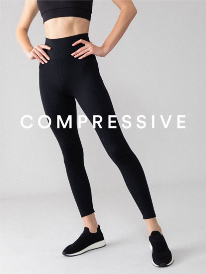 Leggings desportivas shapewear básicas