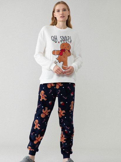Gingerbread pyjama set