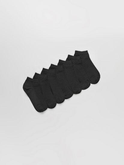 Paquet de 7 parells de mitjons curts bàsics