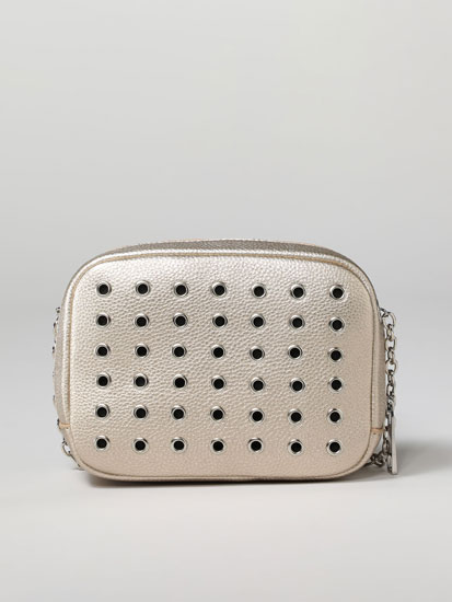 Crossbody bag with holes