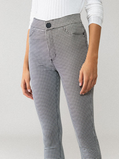 Jegging vaquero estampado
