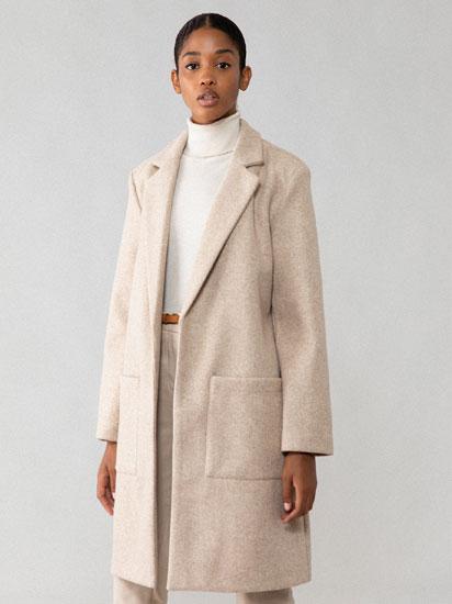 Abric de drap de tall masculí