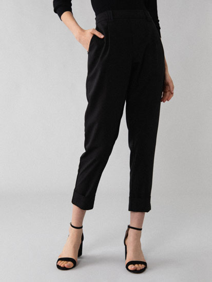 Basic smart jogging trousers