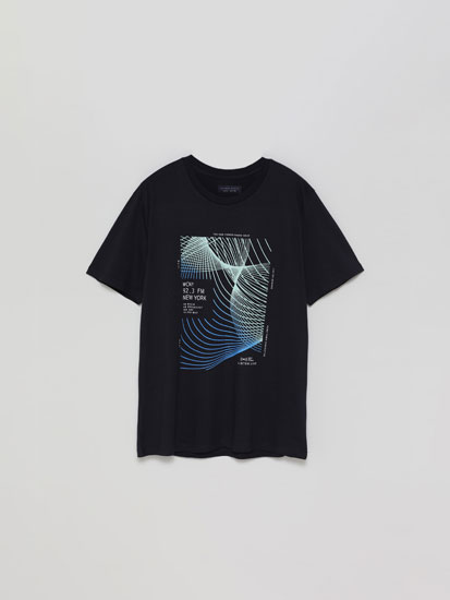Technology Print T-shirt