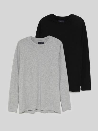 Pack de 2 Camisetas Básicas