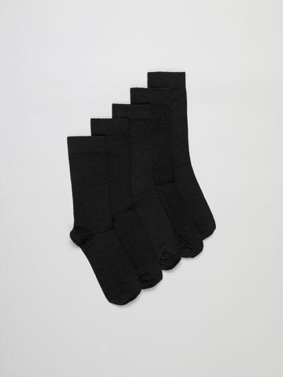 Pack de 5 Pares de Calcetines Largos Básicos