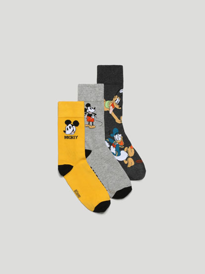 Pack de 3 Pares de Calcetines Mickey ©Disney