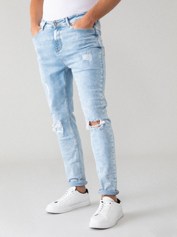 مضيف مفيد انفجار Jeans Super Skinny Hombre Rotos Pleasantgroveumc Net