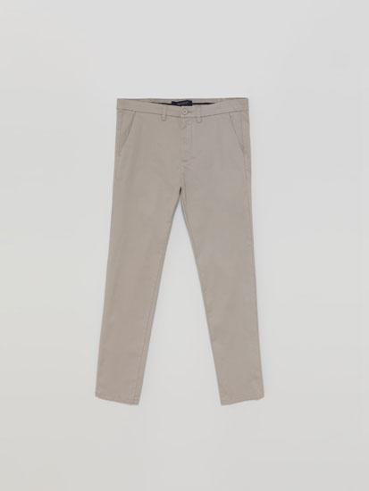 Calças chino skinny fit