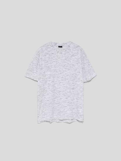 T-shirt jaspeada