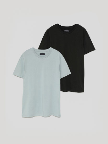 Pack de 2 t-shirts básicas