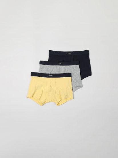 Paquet de 3 calçotets bàsics