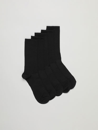 5-Pack of Long Sports Socks