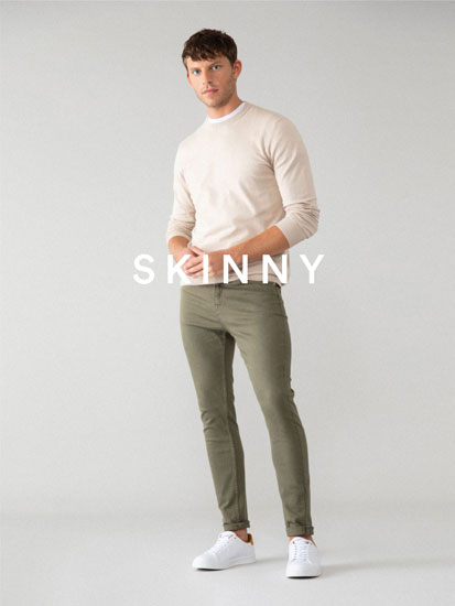 Jeans Skinny Color