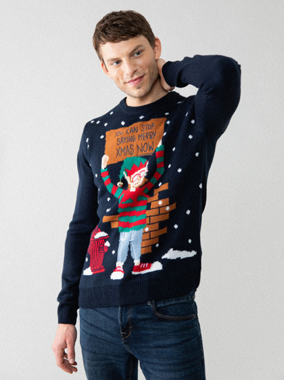 Christmas sweater with bell