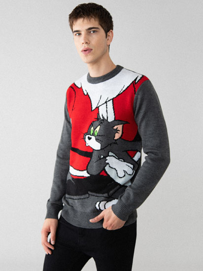 Tom & Jerry ™ © Warner Bros Christmas sweater