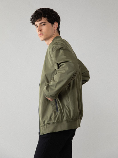Technical Bomber Jacket