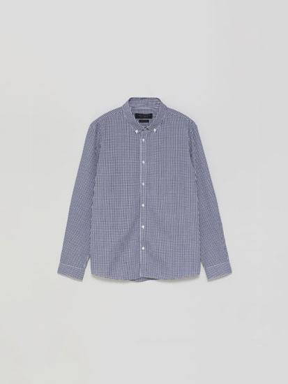 Easy-Iron Check Shirt