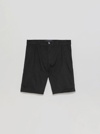 Basic Chino Bermuda Shorts