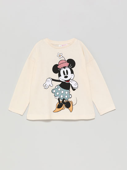 Minnie ©Disney top with shiny print