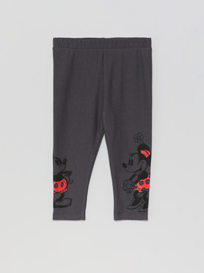 Leggings with Mickey & Minnie © Disney print