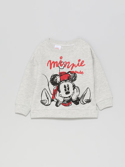 Minnie ©Disney print sweatshirt
