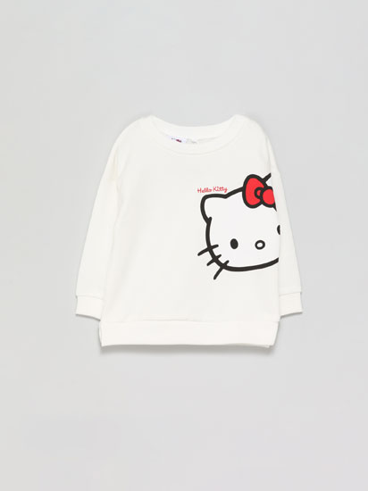 Hello Kitty ©Sanrio print sweatshirt