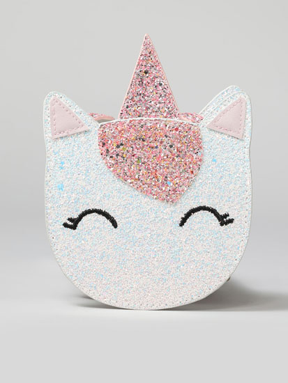 Sparkly unicorn crossbody bag