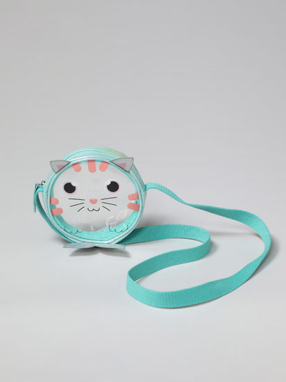Cat-Mermaid crossbody bag