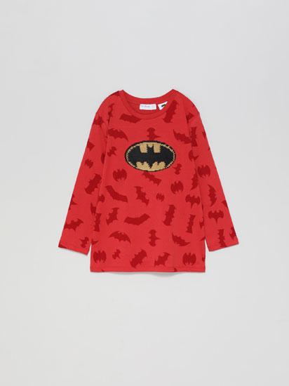 Samarreta amb lluentons dobles de Batman © & TM DC COMICS