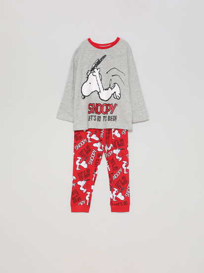 Conjunto de pijama com estampado do Snoopy™