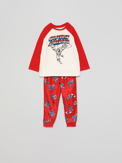 Captain America © Marvel fleece pyjama set