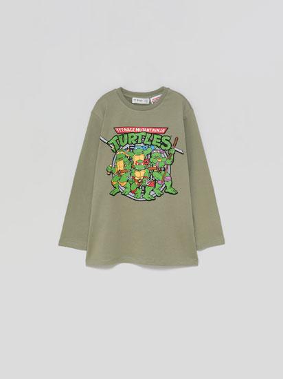 Long sleeve Ninja Turtles T-shirt