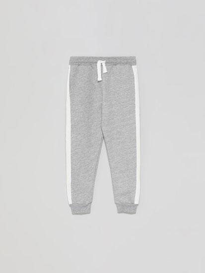 Pantalons de pelfa bàsics amb llista