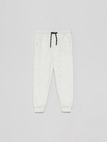 Pantalón Felpa Básico con bolsillos